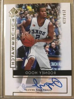 2014-15 Sp Authentic Rodney Hood Future Watch Auto On Card #