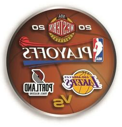 2020 NBA PLAYOFF PIN LA LOS ANGELES LAKERS PORTLAND TRAIL BL