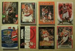 50 card lot of portland trail blazers