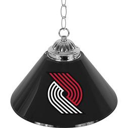 "NBA Portland Trail Blazers Single Shade Gameroom Lamp, 14"""