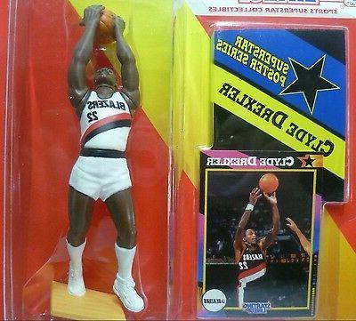 1992 CLYDE DREXLER - Starting Lineup - - Sports Figurine PORTLAND BLAZERS