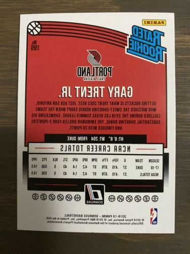 GARY TRENT JR. Donruss Rated Rookie -