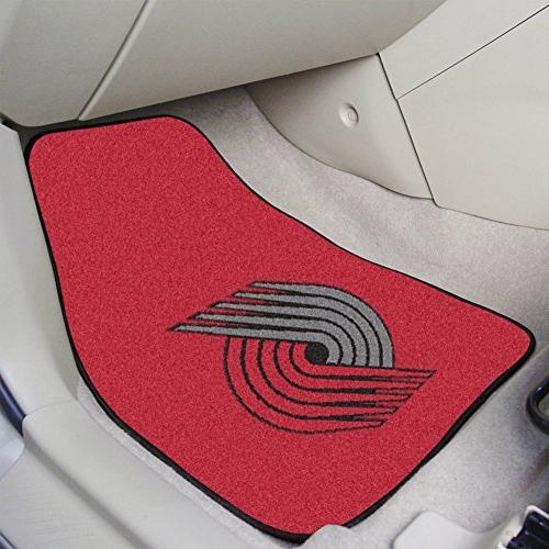 nba carpeted car mat