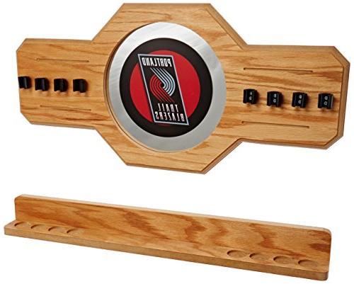 nba portland trail blazers billiard