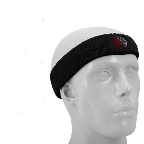 nba portland trail blazers headband sweatband trailblazers