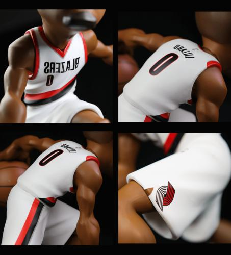 "NBA SMALL-STARS Damian Lillard - 12"" Collectible Figurine"