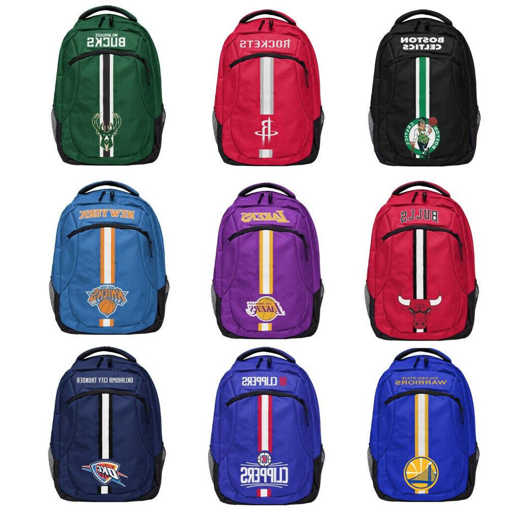 nba team color logo action backpack pick