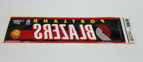 officially licensed nba portland trail blazers bumper