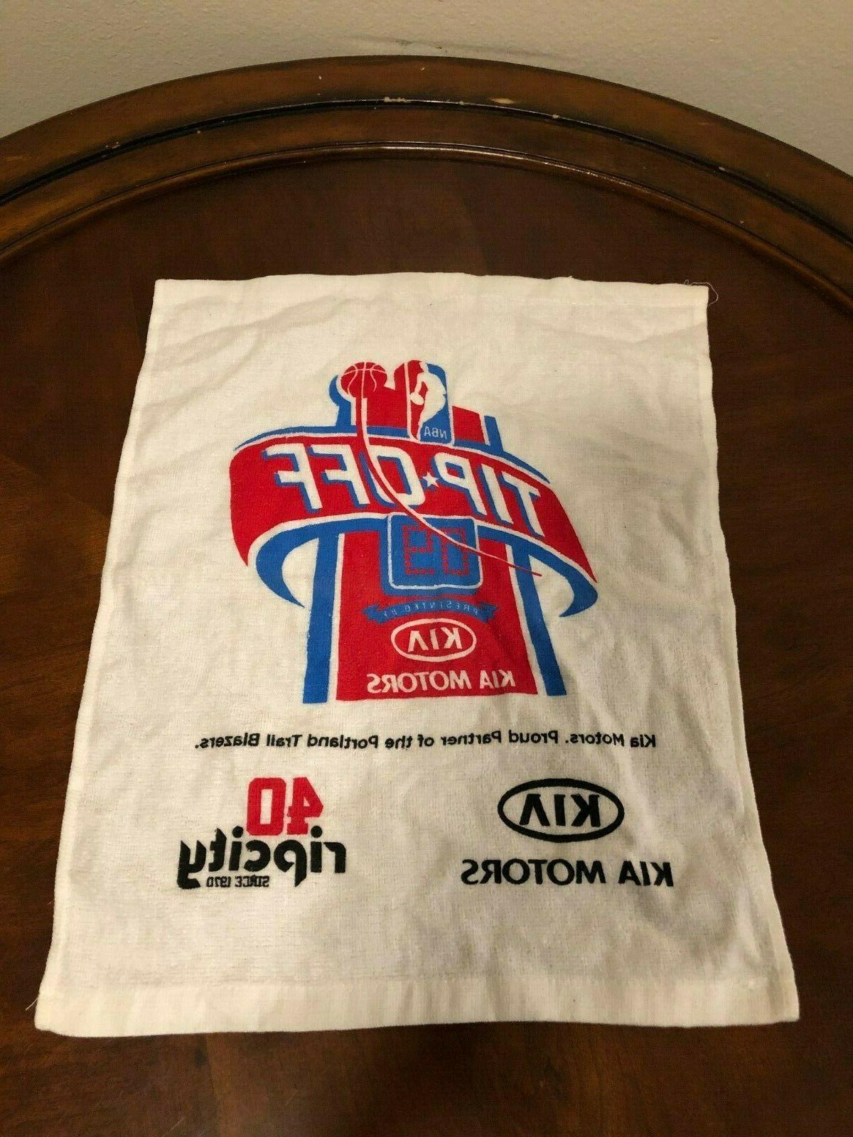 portland trail blazers 40th anniversary rally towel