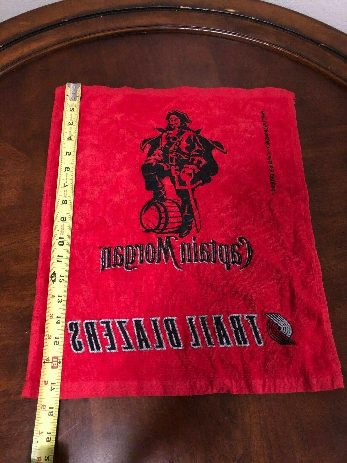 Portland Trail Blazers MORGAN Rally Towel NBA Basketball SGA