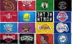 Licensed TORONTO RAPTORS & NBA BASKETBALL TEAMS FLAG BANNER