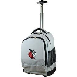 mojo portland trail blazers premium wheeled backpack