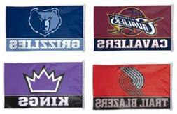 NBA Assorted Teams Wincraft 3' x 5' Indoor Outdoor Flag w/ D