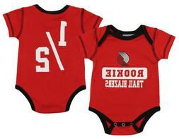 OuterStuff NBA Infant Portland Trail Blazers Rookie Bodysuit
