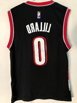 Adidas NBA Jersey Portland Trailblazers Damian Lillard Black