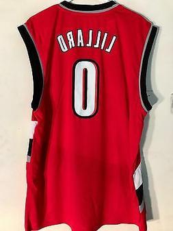 Adidas NBA Jersey Portland Trailblazers Damian Lillard Red s