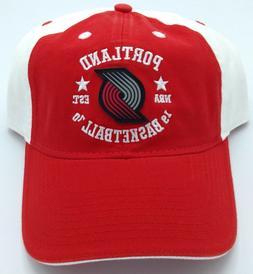 NBA Portland Trail Blazers Adidas Buckle Back Cap Hat Beanie