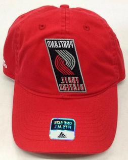 NBA Portland Trail Blazers Adidas Buckle Back Slouch Cap Hat