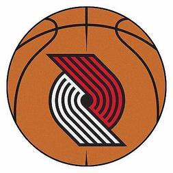 FANMATS NBA Portland Trail Blazers Nylon Face Basketball Rug