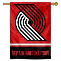 NBA Portland Trailblazers House Flag and Banner