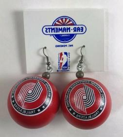 NBA PORTLAND TRAILBLAZERS WESTERN CONFERENCE CHAMP 1990 EAR-
