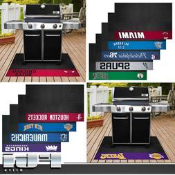 NBA Teams Vinyl BBQ Deck Patio Outdoor Grill Floor Mat Rug U