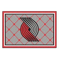 NBA - Portland Trail Blazers 5 x 8 Rug