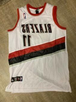 NWOT New adidas Rodriguez White Portland Trail Blazers NBA S