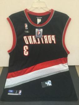 NWT Rare Vintage Portland Trailblazers jersey Reebok Juan Di