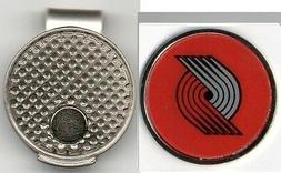 "Portland Trail Blazers 1"" Golf Ball Marker with Hat Clip NBA"