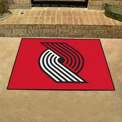 "Portland Trail Blazers 34"" x 43"" All Star Area Rug Floor Mat"