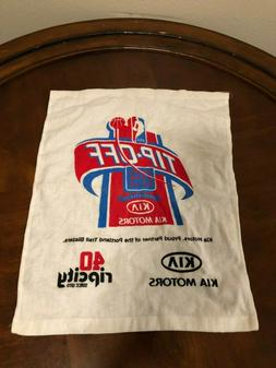 Portland Trail Blazers 40th Anniversary Rally Towel Kia Tip