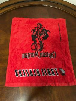 portland trail blazers captain morgan rally towel