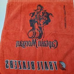 Portland Trail Blazers CAPTAIN MORGAN Rally Towel Rum NBA Ba