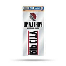 Portland Trail Blazers Double UP 2-Pack Decal Sheet Sticker