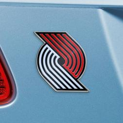 Portland Trail Blazers Heavy Duty Metal 3-D Color Auto Emble