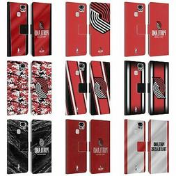 NBA PORTLAND TRAIL BLAZERS LEATHER BOOK WALLET CASE FOR ASUS