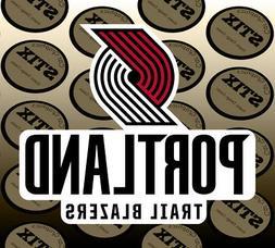 Portland Trail Blazers Logo NBA Die Cut Vinyl Sticker Car Wi