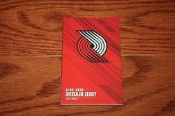 Portland Trail Blazers - NBA Basketball - 2015-16 - Pocket S