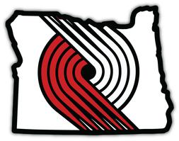Portland Trail Blazers NBA Basketball Car Bumper Sticker Dec