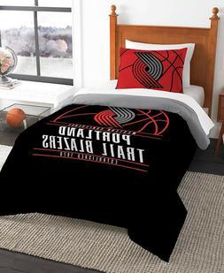 portland trail blazers nba basketball twin comforter