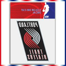Portland trail blazers NBA Die Cut Vinyl Sticker Car Bumper