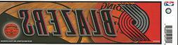 PORTLAND TRAIL BLAZERS NBA LICENSED BUMPER STICKER NEW