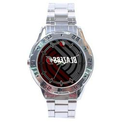 Portland Trail Blazers NBA Stainless Steel Analogue Men's