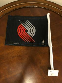 Portland Trail Blazers Playoffs Car Flag Rip City Black Trai