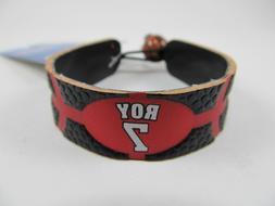 Portland Trail Blazers ROY 7 Leather Bracelet GameWear Offic