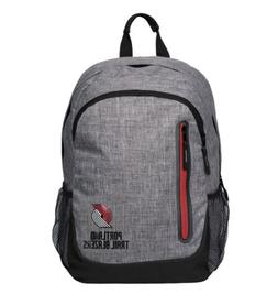 Portland Trail Blazers Team Heathered Gray Backpack