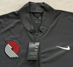 Portland Trail Blazers Nike Track Jacket Gray Men's XXLT Lig